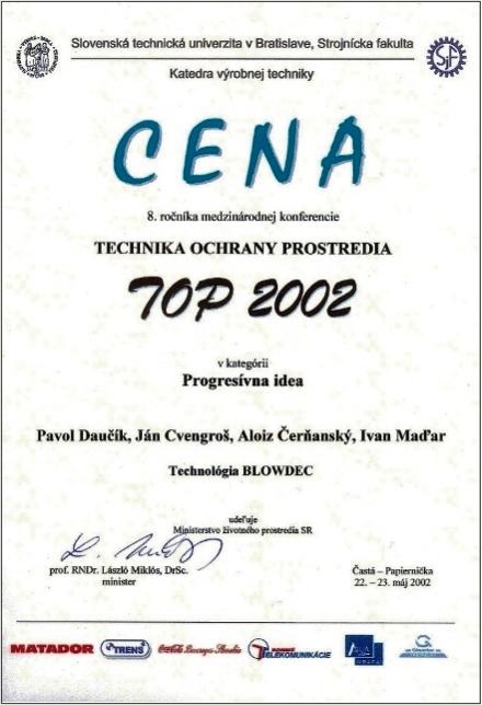 cena 2002